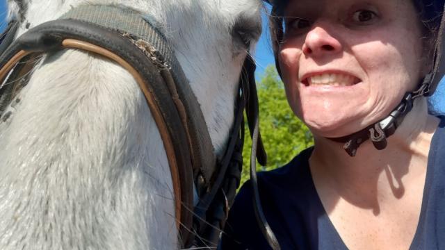 J'ai testé la balade à cheval