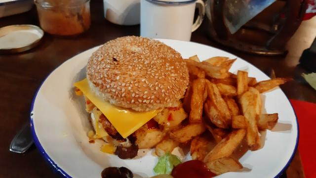 Burgers Valise à Cheval