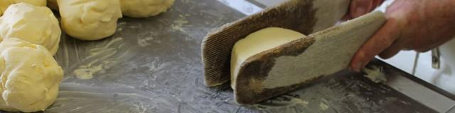 Fabrication du beurre à la Grande Mousse