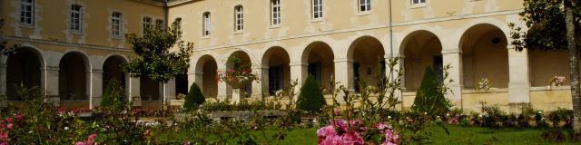 Le Jardin du Cloître de la Visitation à Mamers