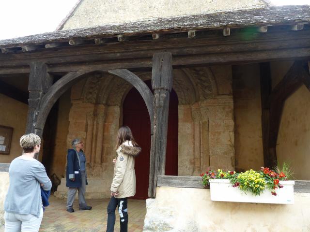 Visite Greeters Église Champaissant - Mme Sourdille