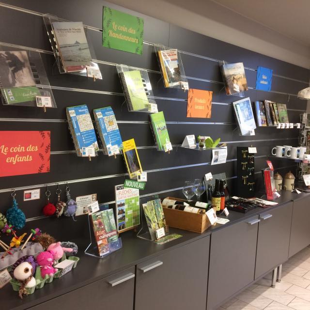 Boutique de l'Office de Tourisme à Mamers