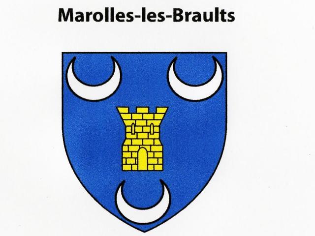 Blason Marolles Les Braults