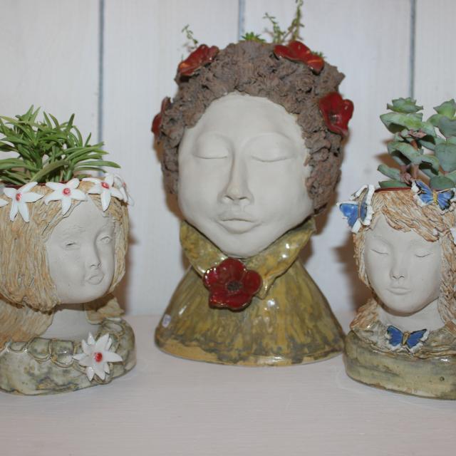 Céramiques de Françoise Auvray